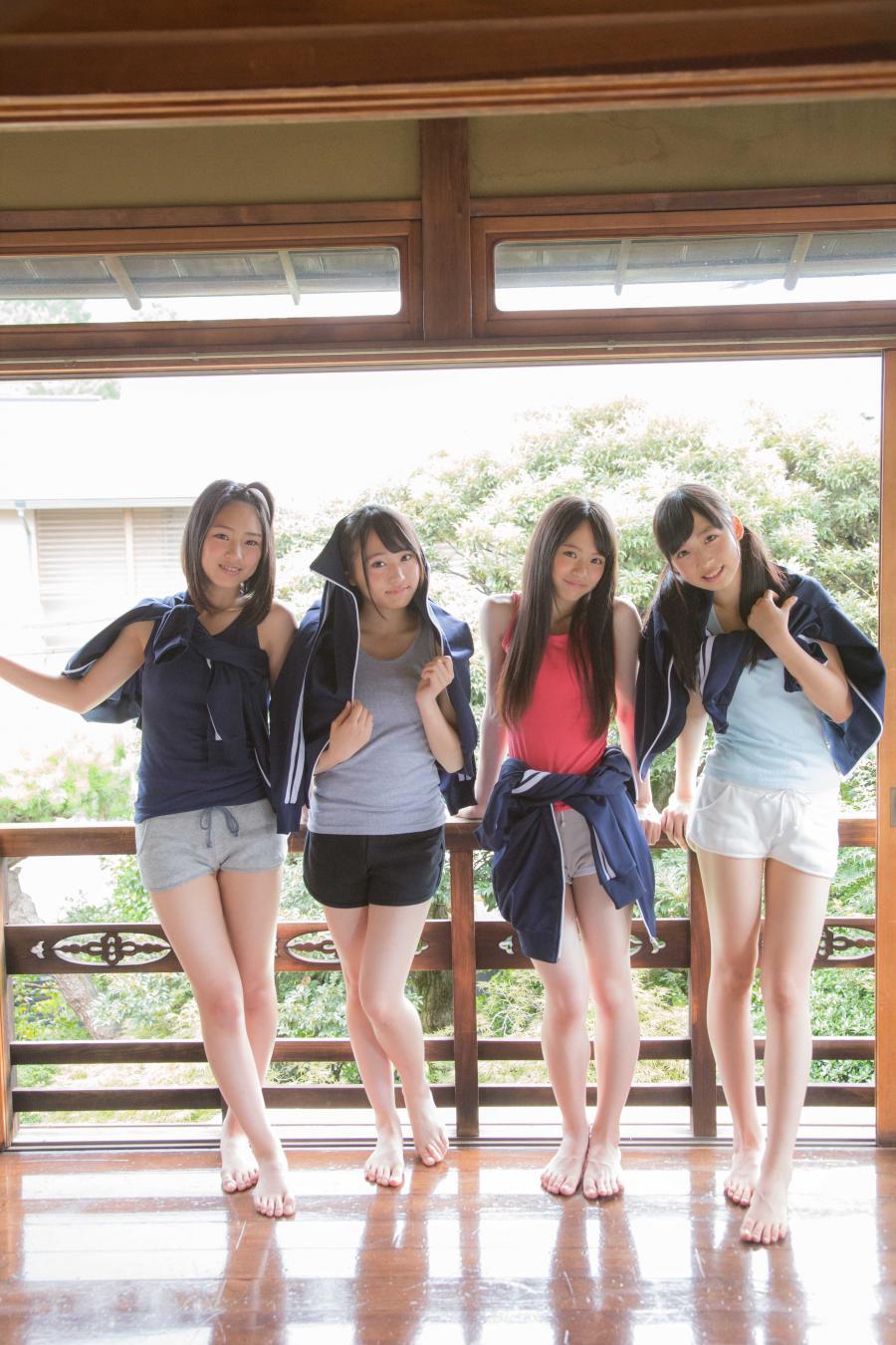 AKB48 チーム8 エロ画像 8月29日(土)発売の『月刊エンタメ』にチーム8